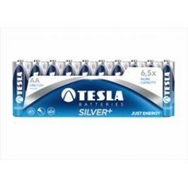 Tesla alkaline Silver+ baterie AA LR6, 10pcs/pack