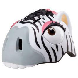 Crazy-stuff Dětská přilba  zebra, 49 - 55 cm