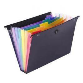VIQUEL Závěsné zakládací desky Rainbow Class, 6 záložek, černé,