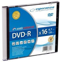 Esperanza DVD-R [ slim jewel case 1 | 4.7GB | 16x ] - karton 200 ks