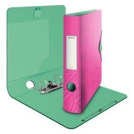 LEITZ Mobilní pořadač Urban Chic, 65mm, A4, PP, růžový,