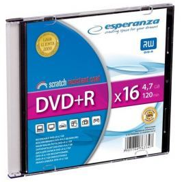 Esperanza DVD+R [ slim jewel case 1 | 4.7GB | 16x ] - karton 200 ks