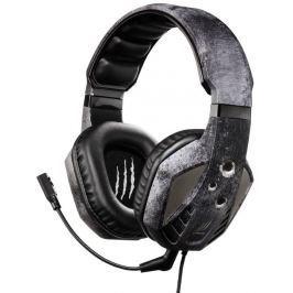 HAMA uRage SoundZ Evo gamingový headset/ drátová sluchátka + mikrofon/ USB/ citl