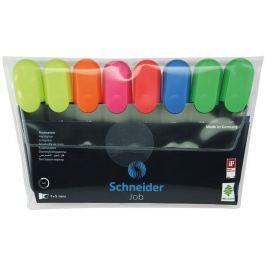 SCHNEIDER Zvýrazňovače Job 150, sada, 8 barev, 1-5 mm,