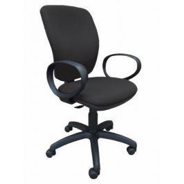 NO NAME Kancelářská židle, textilní, černá základna, Nuvola, černá
