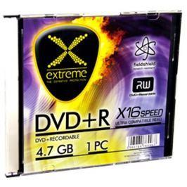 Esperanza Extreme DVD+R [ slim jewel case 1 | 4.7GB | 16x ] - karton 200 ks