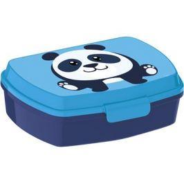 BANQUET Box svačinový plastový PANDA 17,5 x 14 x 5,8 cm