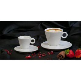 NO NAME Cappuccino šálek + podšálek, 220 ml, bílý