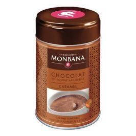 MONBANA Horká čokoláda v prášku Caramel, 250 g,