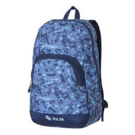 PULSE Batoh Solo Blue Parcel, modrá,