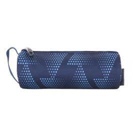 PULSE Penál Music Dot Triangle, modrá,