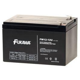 FUKAWA olověná baterie FW 12-12 U do UPS APC/ AEG/ EATON/ Powerware/ 12V/ 12Ah/