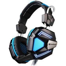 SANDBERG herní sluchátka Headset Cyclone s mikrofonem, černá