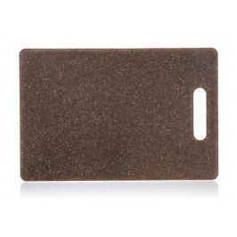 BANQUET Prkénko krájecí plastové GRANITE Dark Brown 36,3 x 27,5 x 0,75 cm