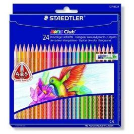 STAEDTLER Barevné pastelky Noris Club, sada, 24 barev, trojhranná,