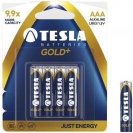 TESLA - baterie AAA GOLD+, 4ks, LR03