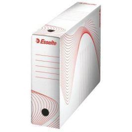 ESSELTE Archivační krabice Standard, bílá, 80 mm, A4, karton,