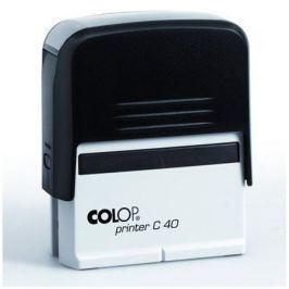 COLOP Razítko,  Printer C 40, s modrým polštářem