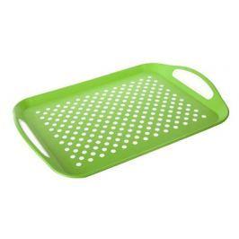 BANQUET Tác protiskluzový plastový 46 x 32 x 4,5 cm, zelený
