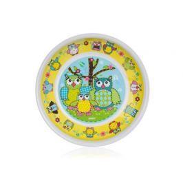 BANQUET Talíř melaminový hluboký OWLS 19 x 3 cm
