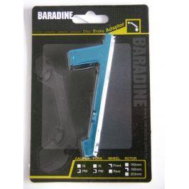 Adaptér přední PM-PM na 180mm modrý ELOX Baradine