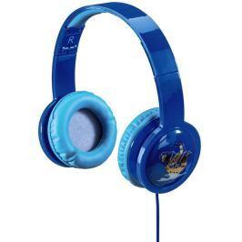 Hama Dětská sluchátka  Kids LED, uzavřená - modrá