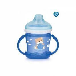 Canpol Babies Nevylévací hrníček Sweet Fun - Medvídek - modrý