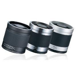 Kenko MILTOL Mirror Lens 400mm F8 - silver/black