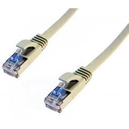oem DATACOM Patch cord FTP CAT6 5m šedý FLAT plochý