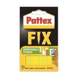 HENKEL Lepicí proužky Pattex Fix, oboustranné, lze odstranit, 20 x 40 mm,