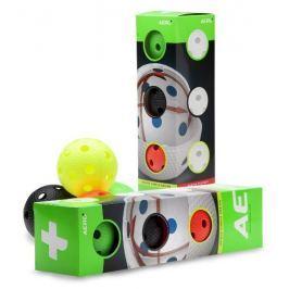 Salming Florbalový míček  Aero Plus Ball 4-pack, colour mix