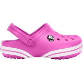 Crocs Nazouváky  Crocband X Clog Kids, 25-26, Party Pink/White