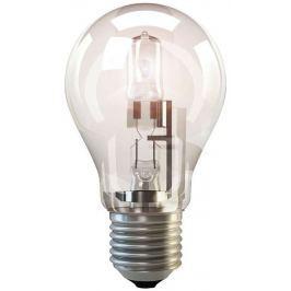 EMOS Halogenová žárovka Classic A55, 53W/70W E27, teplá bílá, 840 lm, Classic C