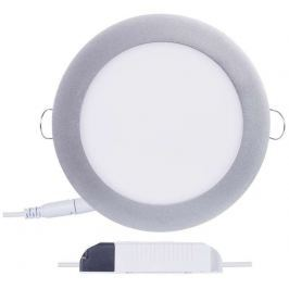 EMOS Lighting Emos vestavné LED svítidlo, kruh 12W/70W, NW neutrální bílá, IP20, stříbrné
