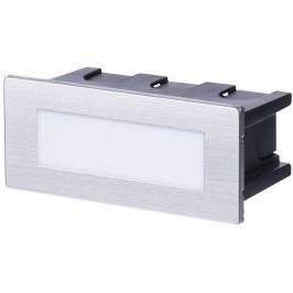 EMOS Lighting Emos orientační vestavné LED svítidlo 123x53, 1.5W, 55 lm, WW teplá bílá, IP65