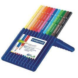STAEDTLER Barevné pastelky Ergo Soft  Box, 12 barev, trojhranná,