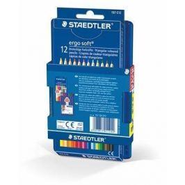 STAEDTLER Barevné pastelky Ergo Soft, 12+12 barev, trojhranná,