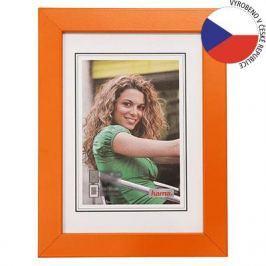 HAMA rámeček dřevěný JESOLO, oranžová, 15x20cm