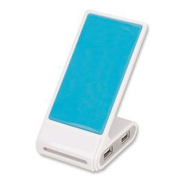 Manhattan USB 2.0 hub Phone Stand, 4 porty, stojánek na mobil