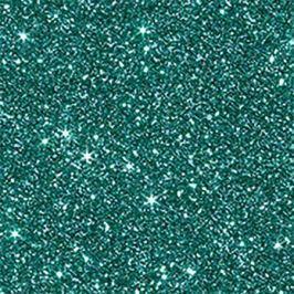 NO NAME Glitter karton, se třpytivým efektem, A4, 220g, tyrkysová