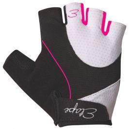 Etape Dámské rukavice  RIVA, L, Bílá/růžová