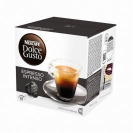NESCAFE Kapsle do kávovaru, 16 ks, NESCAFÉ Dolce Gusto Espresso Intenso