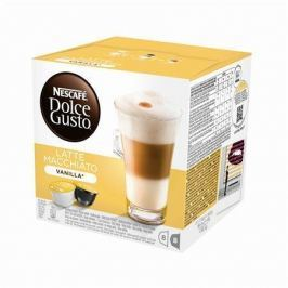 Nescafé Kapsle NESCAFÉ Latté Macchiato Vanilla 16 ks k Dolce Gusto