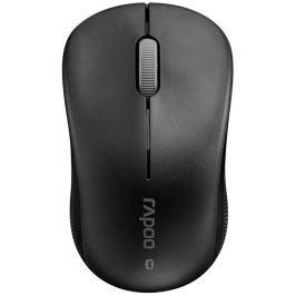 RAPOO 6010B Black/ 1000 dpi/ bezdrátová/ Bluetooth/ černá