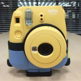 FujiFilm INSTAX MINI 8+ INSTANT CAMERA - Minion