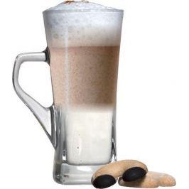 NO NAME Sklenice na Caffé Latte, s ouškem, 31 cl, 6 ks