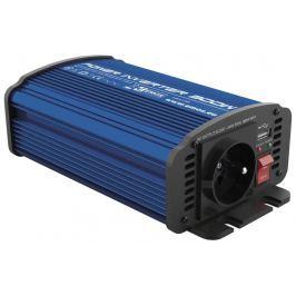 EMOS Měnič napětí do auta 12V/230V, 300W, USB 2100mA