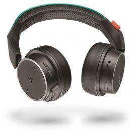 Plantronics Backbeat FIT 500 stereo headset, bluetooth v3.0, černá/tyrkysová
