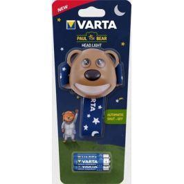 Varta Čelovka Paul the Bear, LED, 3xAAA,