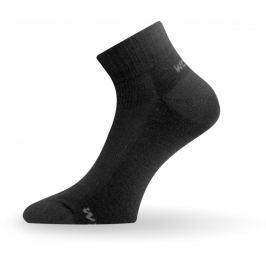 Lasting Dámské merino ponožky  WDL, 34 - 37, Černá